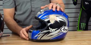 Dropping helmet can ruin it
