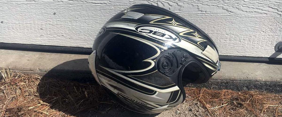 Drop a helmet