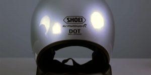 Motorcycle helmet safety ratings